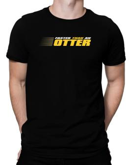 Faster Than An Otter Men T-Shirt