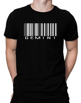 Gemini Barcode / Bar Code Men T-Shirt