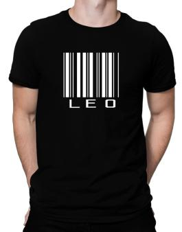 Leo Barcode / Bar Code Men T-Shirt