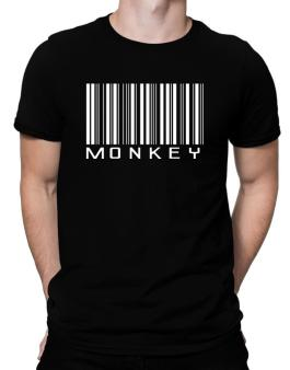 Monkey Barcode / Bar Code Men T-Shirt