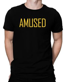Amused - Simple Men T-Shirt
