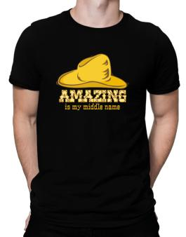 Amazing Is My Middle Name Men T-Shirt