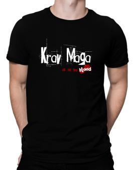 Krav Maga Is In My Blood Men T-Shirt