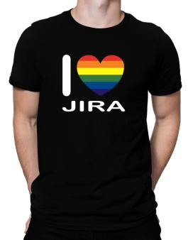 Polo de I Love Jira - Rainbow Heart