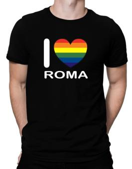 Polo de I Love Roma - Rainbow Heart