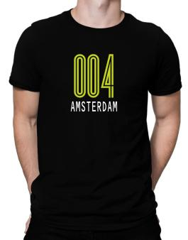 Iso Code Amsterdam - Retro Men T-Shirt