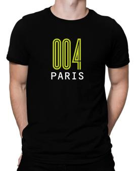 Iso Code Paris - Retro Men T-Shirt