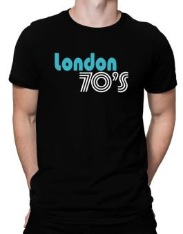 London 70s Retro Men T-Shirt