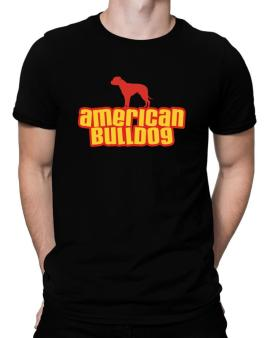 Breed Color American Bulldog Men T-Shirt