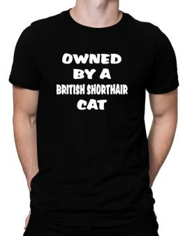 Owned By S British Shorthair Men T-Shirt