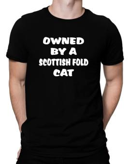 Owned By S Scottish Fold Men T-Shirt