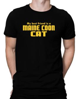 My Best Friend Is A Maine Coon Men T-Shirt
