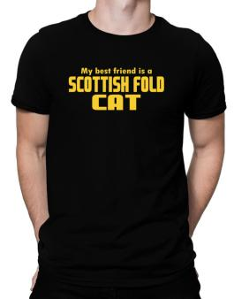 My Best Friend Is A Scottish Fold Men T-Shirt