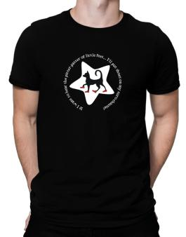 If I Want To Hear The Pitter-patter Of Little Feet ... Ill Put Shoes On My Euro Chausie Men T-Shirt