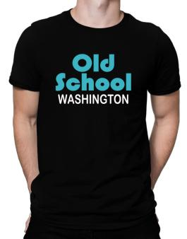 Old School Washington Men T-Shirt