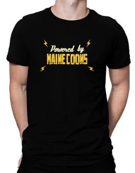 Powered By Maine Coons Men T-Shirt