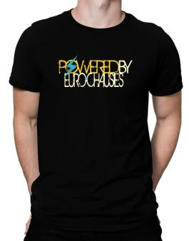 Powered By Euro Chausies Men T-Shirt