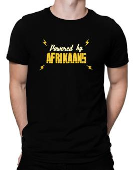 Powered By Afrikaans Men T-Shirt