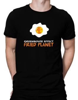 Greenhouse Effect - Fried Planet Men T-Shirt
