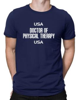 Usa Doctor Of Physical Therapy Usa Men T-Shirt