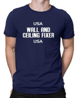 Usa Wall And Ceiling Fixer Usa Men T-Shirt