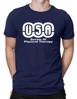 Usa Doctor Of Physical Therapy Men T-Shirt