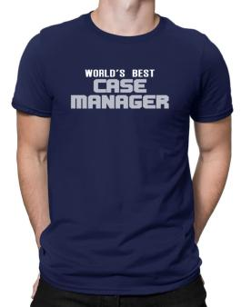 Worlds Best Case Manager Men T-Shirt