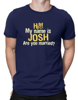 Polo de Hi My Name Is Josh Are You Married?