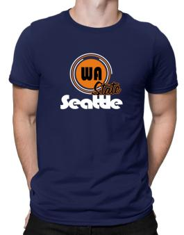 Seattle - State Men T-Shirt