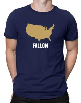 Fallon - Usa Map Men T-Shirt