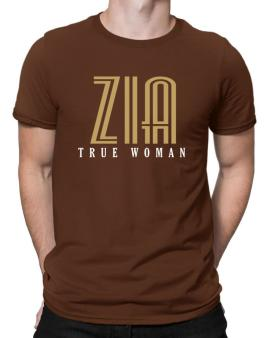 Zia True Woman Men T-Shirt
