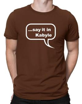 Say It In Kabyle Men T-Shirt