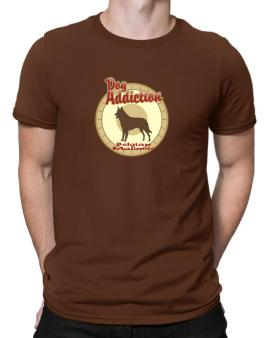 Dog Addiction : Belgian Malinois Men T-Shirt