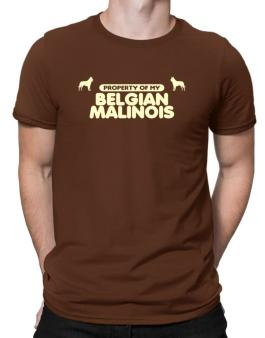 Property Of My Belgian Malinois Men T-Shirt
