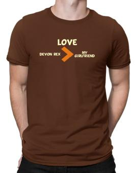Love Devon Rex > My Girlfriend Men T-Shirt