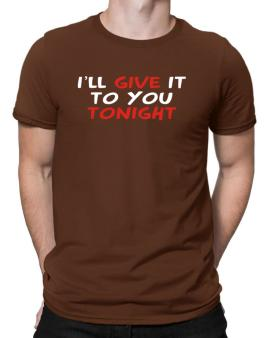 Polo de I´ll Give It To You Tonight