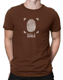 Property of Adele fingerprint 2 Men T-Shirt