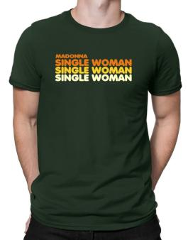 Madonna Single Woman Men T-Shirt