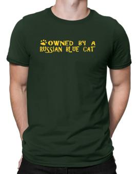 Owned By A Russian Blue Men T-Shirt