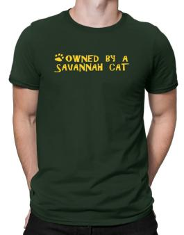 Owned By A Savannah Men T-Shirt