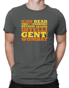 Polo de If You Can Read This Its Probably Because You Are More Intelligent Than A Wombat