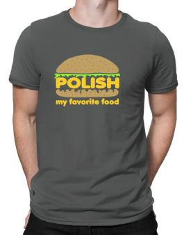 Polish My Favorite Food Men T-Shirt