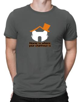 Home Is Where Chartreux Is Men T-Shirt