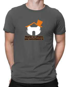 Home Is Where Euro Chausie Is Men T-Shirt