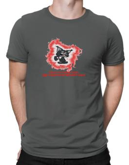 I Love My Maine Coon. My Maine Coon Doesnt Care. Men T-Shirt