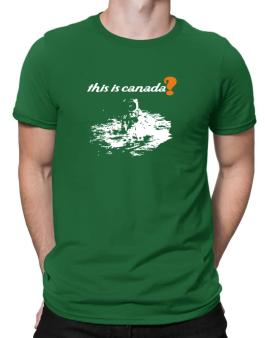 This Is Canada? - Astronaut Men T-Shirt
