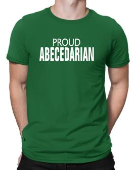 Proud Abecedarian Men T-Shirt
