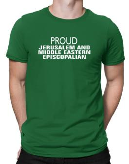 Proud Jerusalem And Middle Eastern Episcopalian Men T-Shirt