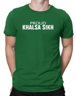 Proud Khalsa Sikh Men T-Shirt