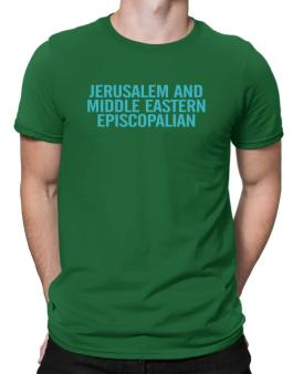 Jerusalem And Middle Eastern Episcopalian - Simple Men T-Shirt